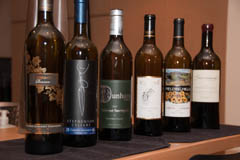 Lineup of Washington Cabernet Sauvignons