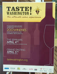 Taste Washington poster