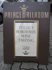 Today's Bordeaux sign