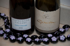 2006 Stephenson Cellars Patina Vineyard Syrah, 2005 Massena Epsilon Shiraz