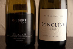 2006 Gilbert Cellars Allobroges and 2007 Syncline Subduction Red