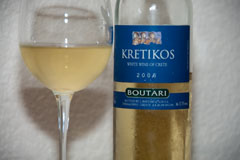 2006 Kretikos Boutari White Wine of Crete