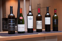 Lineup of South African Red Blends