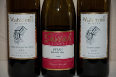 Saviah and Watermill wines
