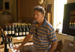 Owner/winemaker Rob Newsom of Boudreaux Cellars