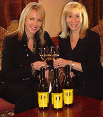 Stacy Lill (left) and Kathy Johanson (right) of O Wines