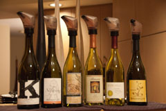 Washington Viognier lineup: K Vintners, Nefarious, Maryhill, Benson, Seven Hills, Bergevin Lane