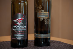 Washington Zinfandel: 2005 Forgeron and 2006 Columbia Crest Reserve