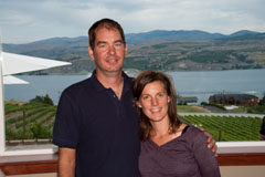 Dean and Heather Neff of Nefarious Cellars