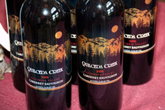 The Quilceda Creek Columbia Valley Cabernet Sauvignon, has received three 100-point ratings in the last four years from Robert Parker's Wine Advocate for the 2002, 2003, and 2005 vintages.