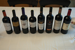 Lineup for the Wines of Chile online tasting