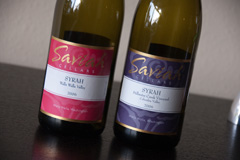2006 Saviah Cellars Walla Walla Valley Syrah and 2006 Saviah Cellars Stillwater Creek Vineyard Syrah