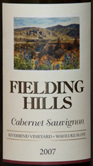2007 Fielding Hills Cabernet Sauvignon