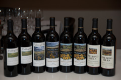 Fielding Hills Cabernet Sauvignon vertical tasting, 2000 through 2007 vintages