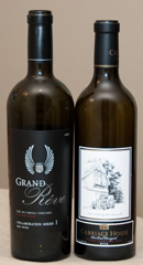 2005 Grand Rêve Collaboration Series I Red Wine and 2005 Côte Bonneville Carriage House Red Wine