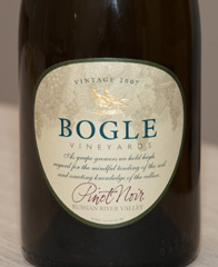 2007 Bogle Pinot Noir