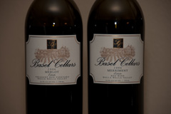 2006 Basel Cellars Estate Merlot Pheasant Run Vineyard and 2006 Basel Cellars Merriment Estate Red Wine