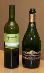 2006 Sagelands Vineyard Four Corners Cabernet Sauvignon and NV Domaine Ste. Michelle Blanc de Noirs