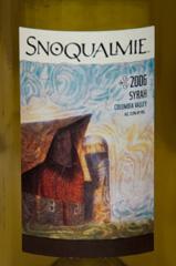 2006 Snoqualmie Syrah