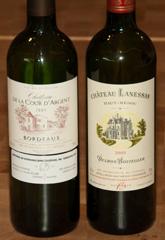2005 Chateau de la Cour d'Argent and 2005 Chateau Lanessan