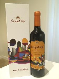 2009 Campo Viejo Reserva Art Series